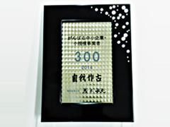 がんばる中小企業・小規模事業者300社 受賞