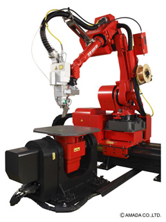 ファイバーレーザ溶接システム 6軸多関節ロボット付FLW-4000M3