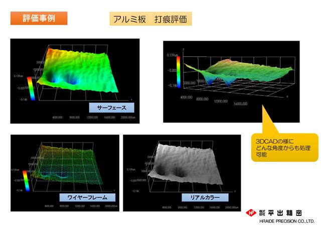 評価事例 3次元形状評価Φ50