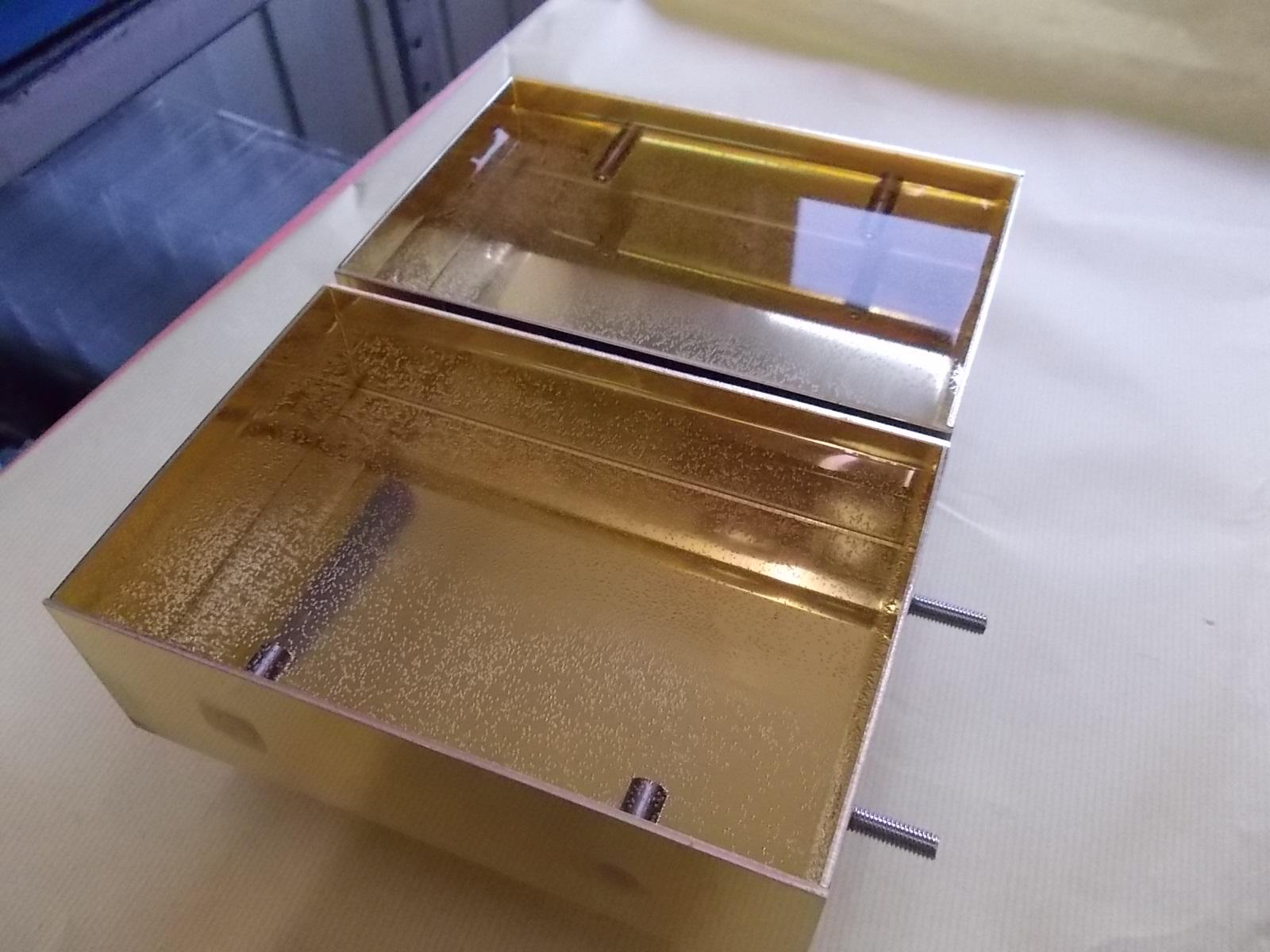 気密性が必要な溶接部品(真鍮部品)の加工